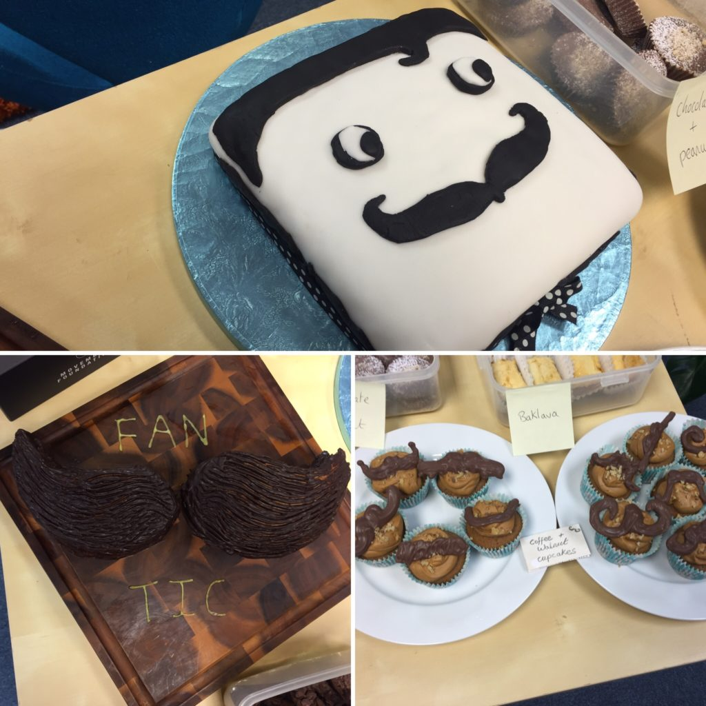 A selection of treats from the Intelligent Retail Movember bake sale.