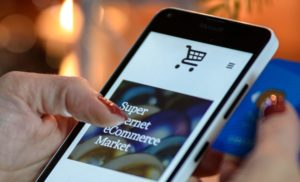 Growth in UK orders from mobile devices