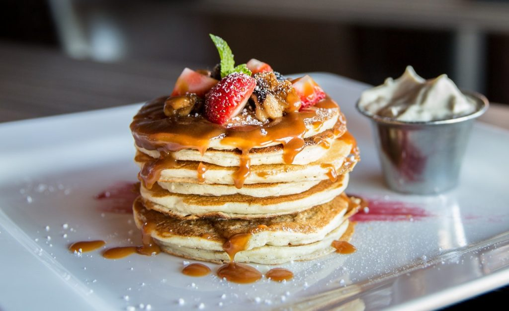 image of a stack of pancakes
