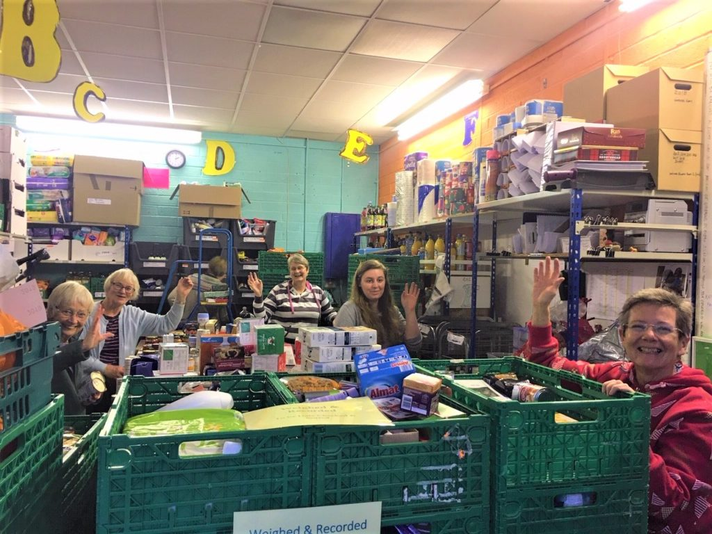 west berkshire foodbank staff