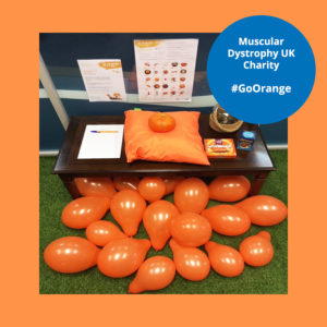 muscle dystrophy uk games day