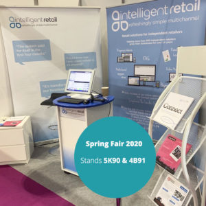 spring fair 2020 intelligent retail booth